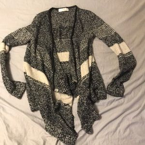 RD Style Open Face Cardigan